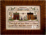 Exodus 20:16 from Little House Needleworks - click to see more