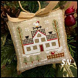 Farmhouse Christmas #7 Cock-a-doodle-do from Little House Needleworks -- click to see lots more
