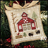 Farmhouse Christmas #9 Baa Baa Black Sheep from Little House Needleworks -- click to see more