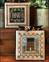Fall is in the Air Part 1 from Little House Needleworks - click to see more