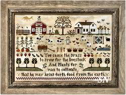 Farm Life from Little House Needleworks -- click to see lots more