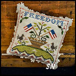 Early Americans #5 Freedom from Little House Needleworks -- click to see lots more