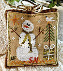 2010 Ornament #8 Frosty Flakes from Little House Needleworks - click for more