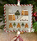 2011 #4 Gingerbread Village from Little House Needleworks - click to see more