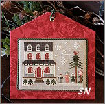 Hometown Holiday #14 Grandma's House from Little House Needleworks -- click to see lots more