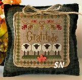 Little Sheep Virtues #11 Gratitude from Little House Needleworks - click to see more
