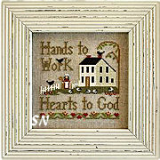 Hands to Work from Little House Needleworks - click to see more