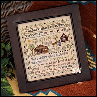 Homestead Sampler from Little House Needleworks -- click to see lots more