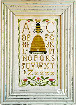 Honeybee Sampling from Little House Needleworks -- click to see lots more