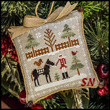 Farmhouse Christmas Part 2: Horsin' Around from Little House Needleworks -- click to see lots more