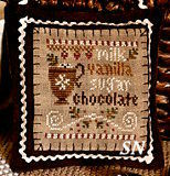 Hot Cocoa - 2012 Ornament #7 from Little House Needleworks - click to see more