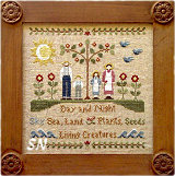 In The Beginning from Little House Needleworks - click to see more