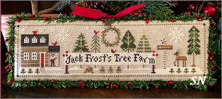 Jack Frost's Tree Farm part 1 from Little House Needleworks -- click to see lots more
