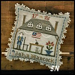 Early Americans #2 John Hancock from Little House Needleworks -- click to see lots more