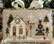 #2 - Main Street Station of Hometown Holiday from Little House Needleworks - click to see more