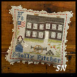 Early Americans #9 Molly Pitcher from Little House Needleworks -- click to see lots more