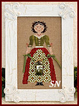 My Lady at Christmas from Little House Needleworks -- click to see more