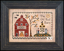 The Old Red Barn from Little House Needleworks -- click to see more