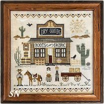 Old West Dry Goods from Little House Needleworks - click to see more