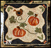 Country Pumpkins from Little House Needleworks -- click to see more