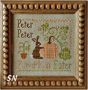 Peter, Peter Pumpkin Eater! from Little House Needleworks - click to see more