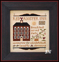Red Rooster Inn from Little House Needleworks -- click to see lots more
