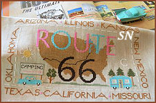 Route 66 from Little House Needleworks -- click to see more