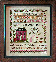 Sarah Street - Faithfulness from Little House Needleworks - click for more