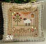 Little Sheep Virtues #6 Simplicity from Little House Needleworks - click to see more