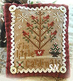2012 Orn #6 Six Little Cardinals from Little House Needleworks - click to see more