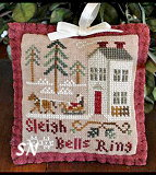 2012 Orn #4 Sleigh Bells Ringing from Little House Needleworks - click to see more