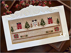Three Snowy Hills from Little House Needleworks -- click to see lots more