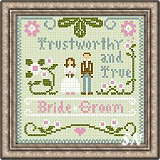 Little Women Virtues Trustworthy & True from Little House Needleworks and Crescent Colours - click to see more