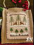 Winter Forest from Little House Needleworks - click to see more