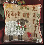 #5 Winter Sheep from Little House Needleworks - click for more