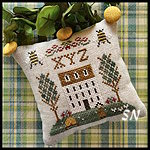 ABC Samplers #9 XYZ from Little House Needleworks -- click to see lots more