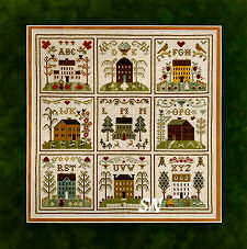 ABC Samplers all 9 XYZ from Little House Needleworks -- click to see lots more
