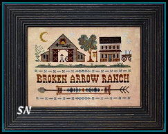 Tumbleweeds #4 Broken Arrow Ranch from Little House Needleworks - click to see more