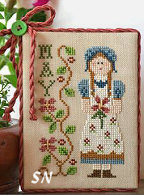 Calendar Girl May from Little House Needleworks - click to see more