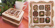 Chocolate Box from Little House Needleworks - click for more