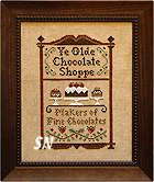 Chocolate Shoppe from Little House Needleworks -- click to see more