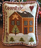 Country Christmas - 2012 Ornament #9 from Little House Needleworks - click to see more