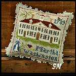 Early Americans #3 Martha Washington from Little House Needleworks -- click to see lots more