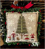 Jack Frost's Tree Farm part 3 Family Fun from Little House Needleworks -- click to see lots more