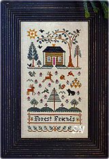 Forest Friends from Little House Needleworks -- click to see lots more