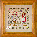 Garden Pleasures from Little House Needleworks -- click to see more
