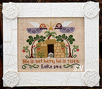 He is Risen from Little House Needleworks -- click to see lots more