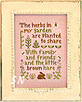 Herb Garden by Little House Needleworks