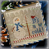 It's SNOW Cold Outside!!! - 2012 Ornament #8 from Little House Needleworks - click to see more