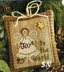Joy to the World from Little House Needleworks - click to see more